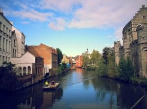 Le canal de Gand!