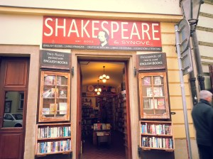 La librairie Shakespeare et Synové.