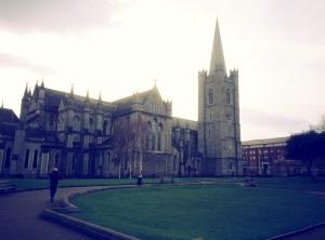 La cathédrale Saint-Patrick.