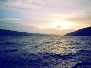 Sur Loch Ness.