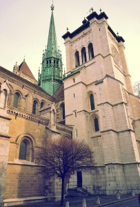 La cathédrale Saint-Pierre.