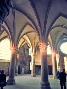La salle des chevaliers.