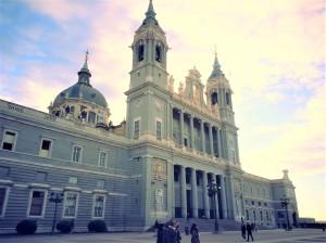 La cathédrale Almudena.